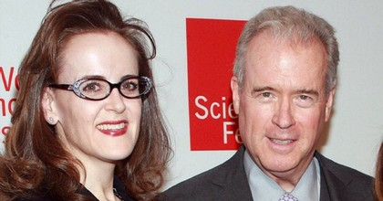 Rebekah Mercer and her father, Robert, oversee the Mercer Family Foundatio, which has donated more than $2 million to groups that deny climate science. (Photo: @dgmuir/Twitter)