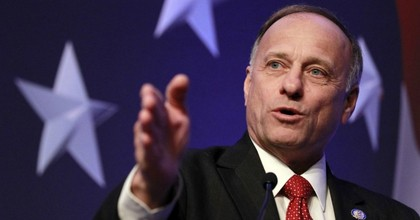 """""""Certain groups of people will do more from a productive side than other groups of people will,"""" Rep. Steve King (R-Iowa) said Monday. (Photo: AP)"""