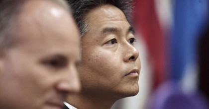 """""""The Trump Administration does not have congressional authorization to carry out military strikes against the Assad regime,"""" said Rep. Ted Lieu (D-Calif.) on Thursday. (Photo: Cheryl A. Guerrero / Los Angeles Times)"""