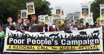 """The Poor People's Campaign and Institute for Policy Studies released a """"moral budget"""" on Monday. (Photo: Poor People's Campaign/Twitter)"""