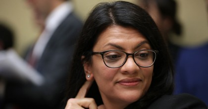 Rep. Rashida Tlaib (D-MI) listens to Michael Cohen, former attorney and fixer for President Donald Trump, testify before the House Oversight Committee on Capitol Hill February 27, 2019. (Photo: Chip Somodevilla/Getty Images)