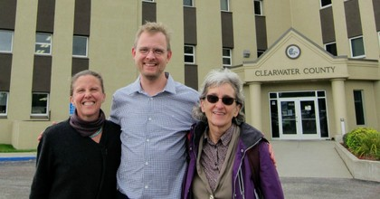A trial for (from left) Emily Nesbitt Johnston, Benjamin Joldersma, and Annette Klapstein regarding their participation in a 2016 multi-state protest begins on Monday. (Photo: Shut It Down - Climate Direct Action/Facebook)
