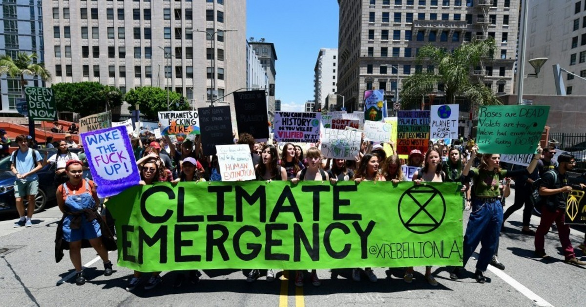 Opinion | The Choice Is Ours: Extinction or Rebellion?