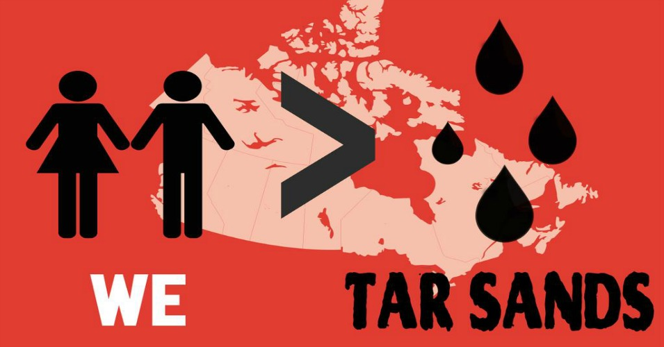 This weekend, actions calling for jobs, justice and climate action are sweeping Canada. (Image: 350.org)