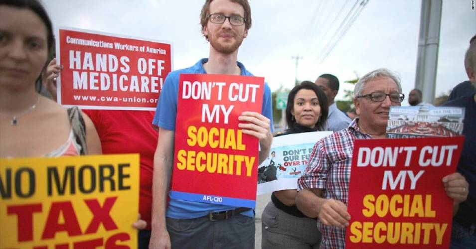 """Anyone seeking elected office needs to fight for what the people want,"" Alex Lawson of Social Security Works said in a statement. (Photo: Getty)"