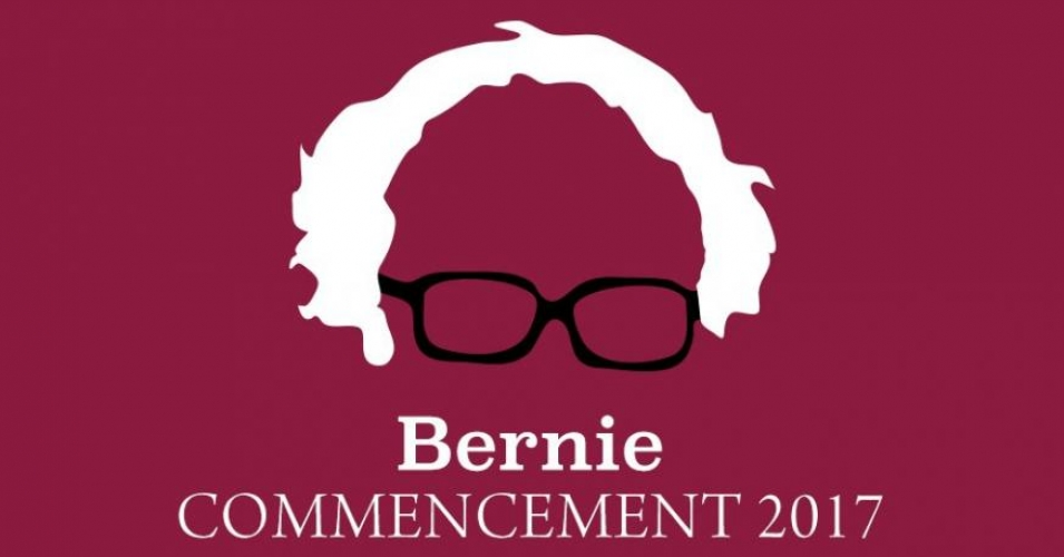 "Sen. Bernie Sanders delivered the 2017 commencement address to graduates at Brooklyn College on Tuesday, telling students that they give him ""tremendous confidence"" in the future of the country. (Image: Brooklyn College)"
