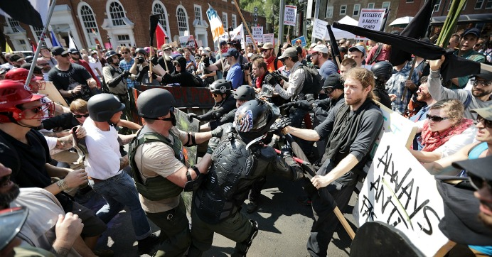 Image result for charlottesville anti fascist