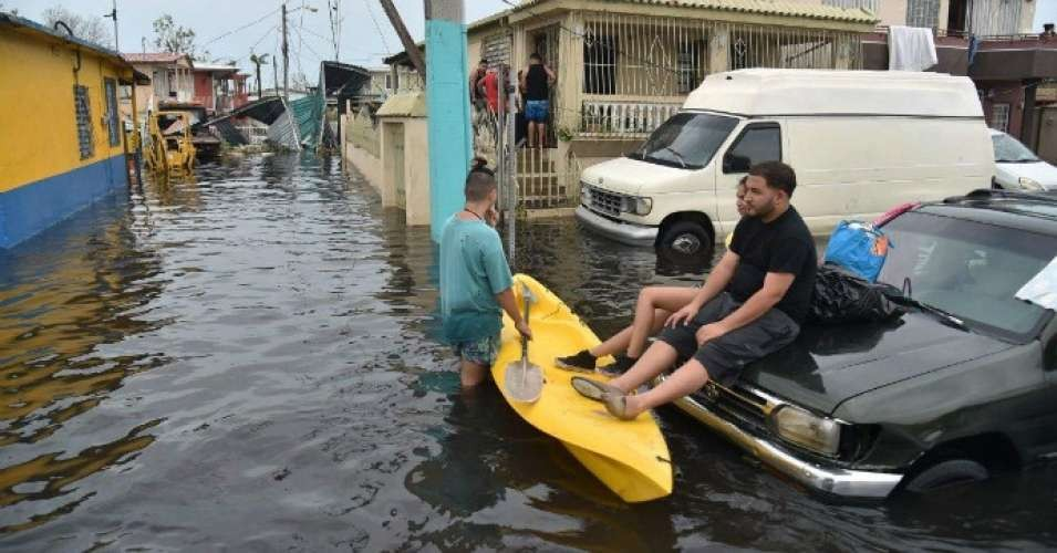 A government-commissioned study out Tuesday estimates that nearly 3,000 people died in Puerto Rica after Hurricane Maria, bolstering calls for greater relief efforts. (Photo: Hector Retamal/AFP/Getty Images)