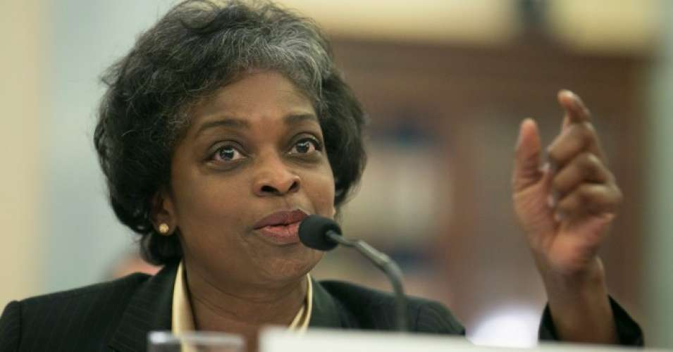 FCC Commissioner Mignon Clyburn testifies before the Senate Committee on Commerce, Science and Transportation during an FCC oversight hearing in Washington, D.C. (Photo: T.J. Kirkpatrick/Getty Images)