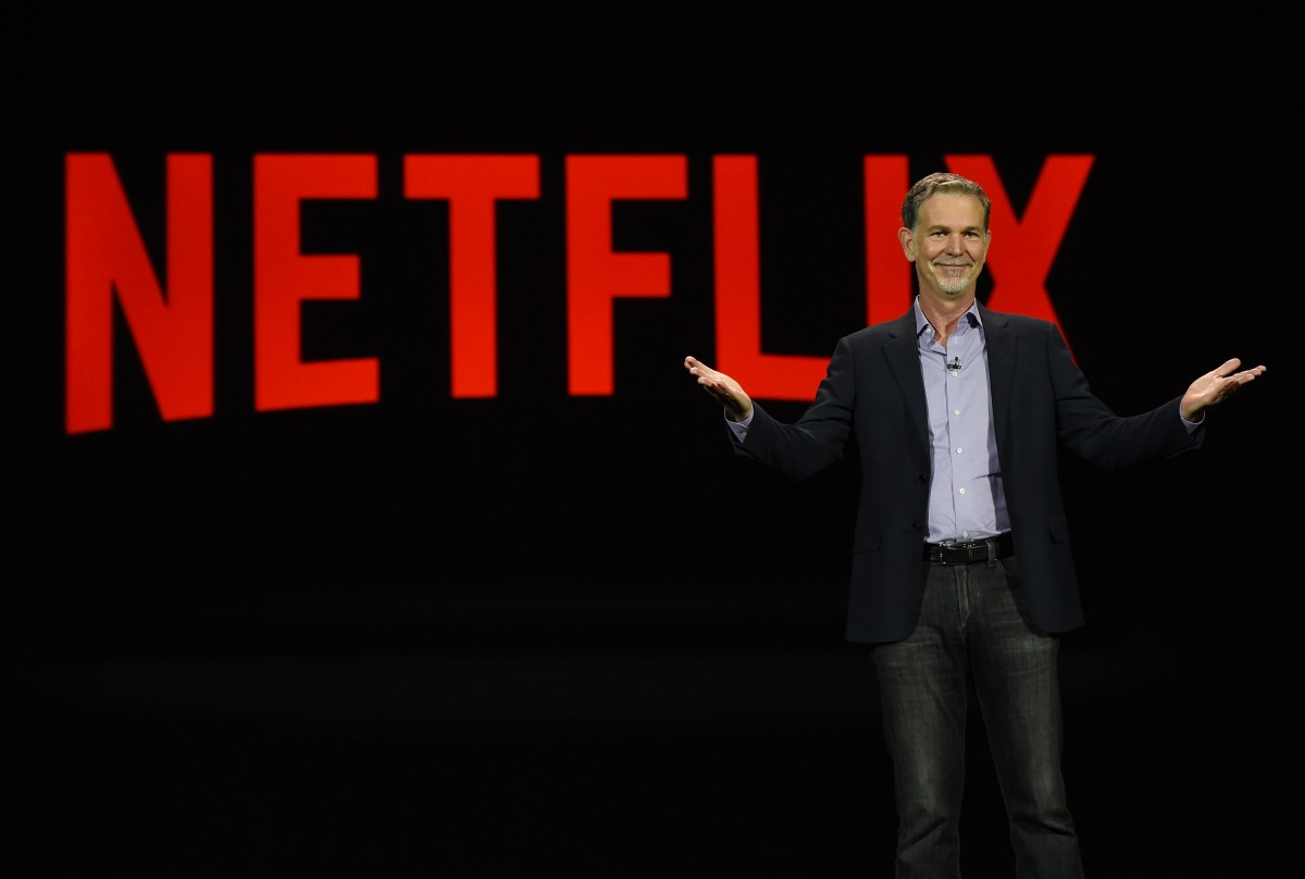Netflix CEO Reed Hastings delivers a keynote address at CES 2016 at The Venetian Las Vegas on January 6, 2016 in Las Vegas, Nevada. (Photo: Ethan Miller/Getty Images)