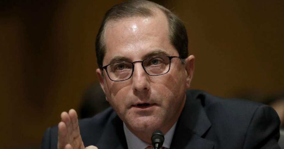 Alex Azar, Secretary of Health and Human Services nominee, testifies before the Senate Finance Committee January 9, 2018 on Capitol Hill in Washington, D.C. (Photo: Win McNamee/Getty Images)