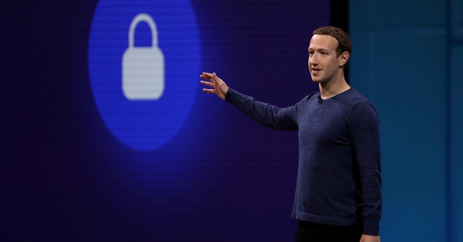 "Facebook CEO Mark Zuckerberg spoke to developers at the tech giant's annual conference on Tuesday about his plan to give certain ""broadly trusted"" news sources priority in users' news feeds. (Photo: Justin Sullivan/Getty Images)"