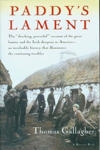 """Paddy's Lament"" recounts the famine and the Irish diaspora to America."