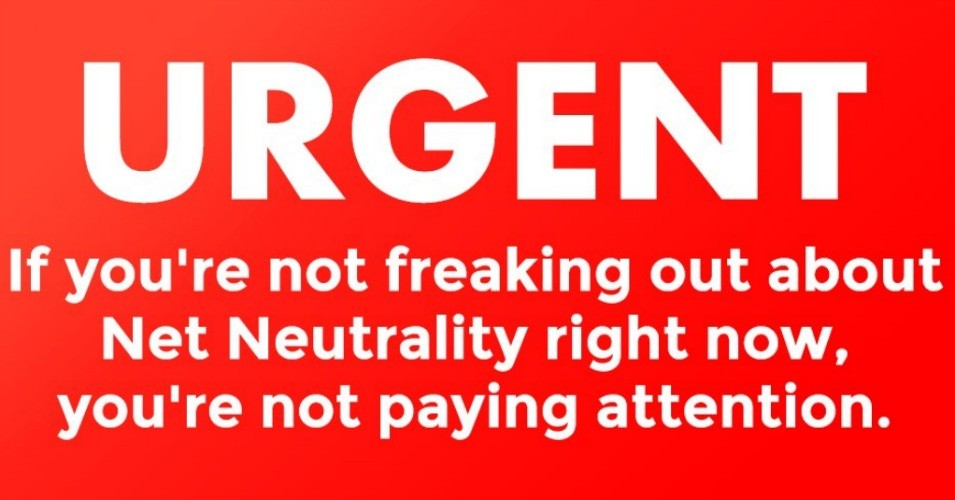 The Senate is set to vote on overturning the FCC's decision to repeal net neutrality protections on Wednesday. (Image: Fight for the Future)