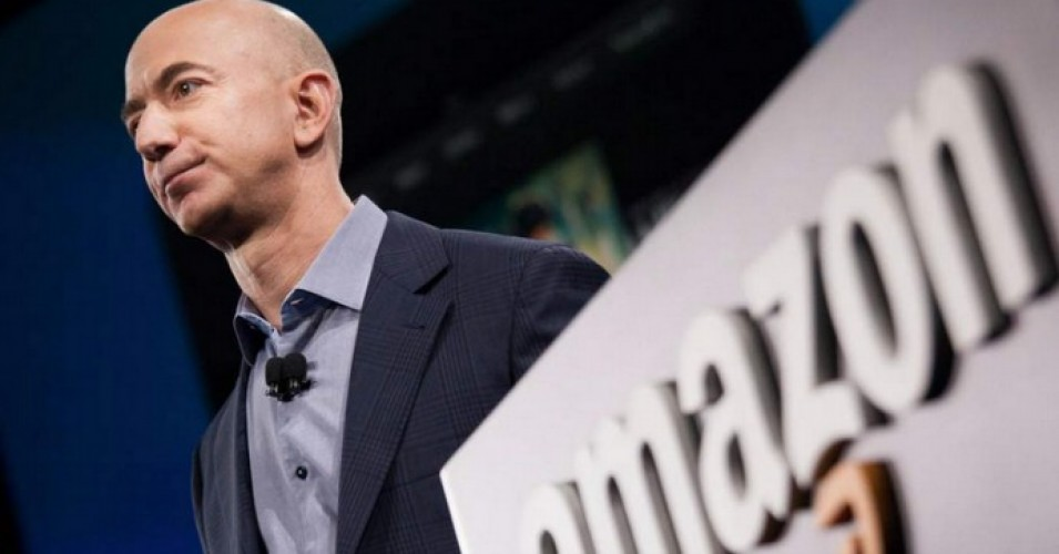"""While Mr. Bezos is the most egregious example, the Walton family of Walmart and many other billionaire-owned large and profitable companies also enrich themselves off taxpayer assistance while paying their workers poverty-level wages,"" Sen. Bernie Sanders said in a statement. (Photo: Getty)"