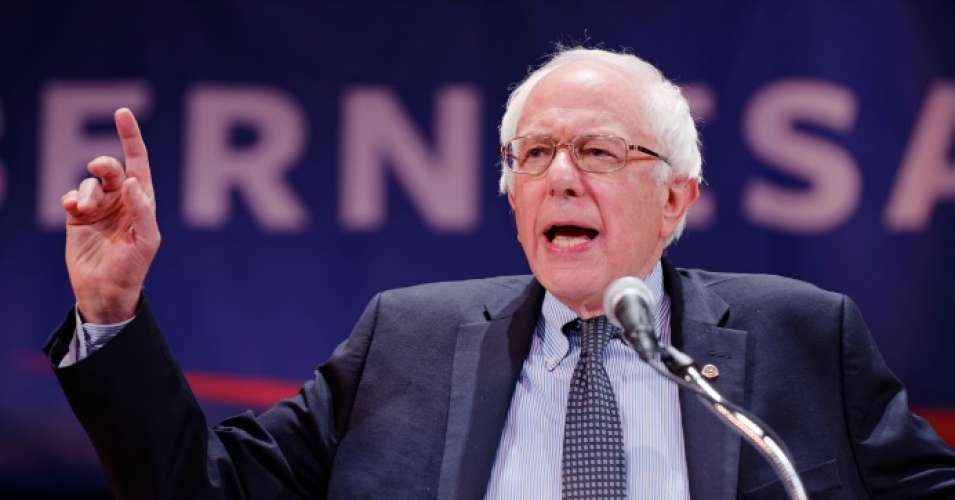 "Sen. Bernie Sanders (I-Vt.) on Monday decried a world in which ""billionaires and multinational corporations get richer by hiding their wealth and profits and avoid paying their fair share of taxes."" (Photo: Michael Vadon/Flickr/cc)"