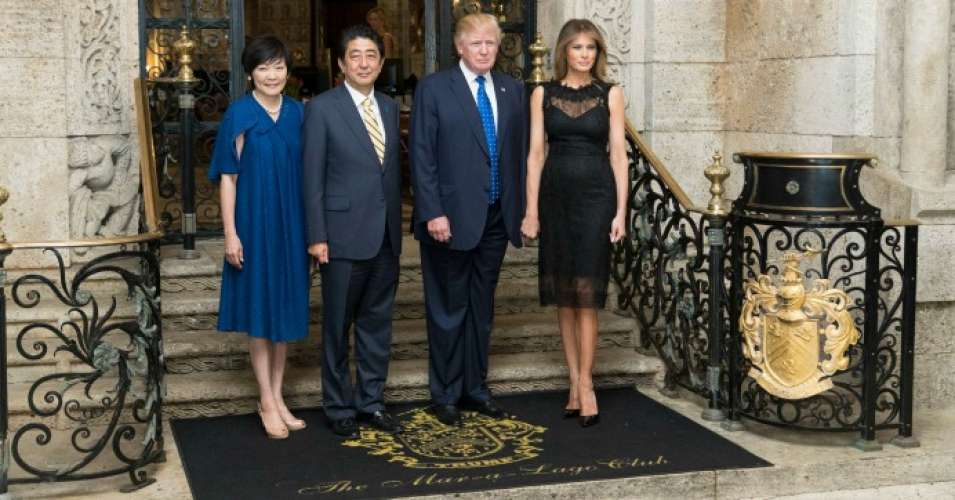 On Friday, the Trump administration released a list of visitors from President Donald Trump's meeting with Japanese Prime Minister Shinzō Abe at the president's Mar-a-Lago estate in Florida. (Photo: Shealah Craighead/TheWhite House)