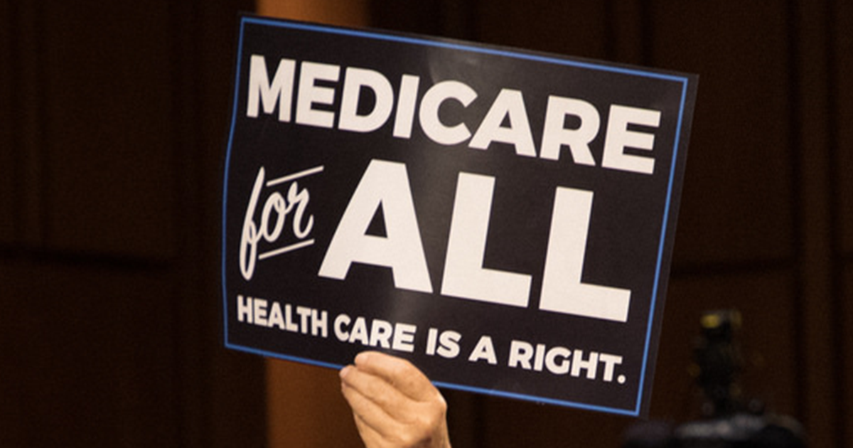 """I know, I know this shocking,"" Sanders stated, referring to Trump's untruths and misrepresentations about the Medicare for All bill the senator introduced last year."