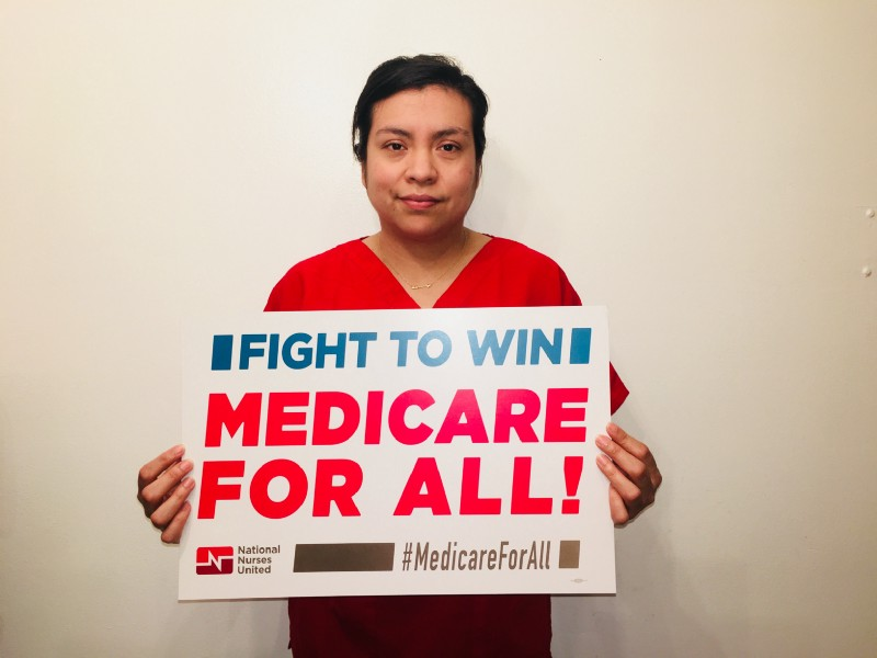 Registered nurse Claudia Alarcon, 34, is just one of the activists in their 20s and early 30s who are leading the fight for a future with Medicare for All.