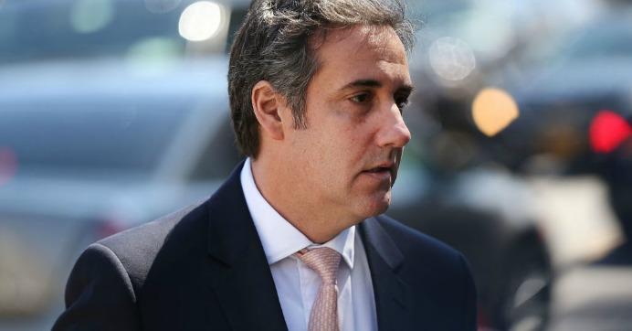 Michael Cohen, longtime personal lawyer and confidante for President Donald Trump, arrives at the United States District Court Southern District of New York on April 26, 2018 in New York City. (Photo: Spencer Platt/Getty Images)