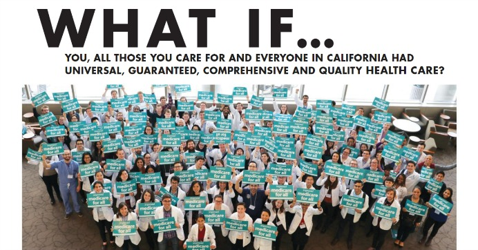 """There's a lack of informative, accurate coverage of single payer in the mainstream media,"" Dr. Bill Bronston, chair of the Sacramento Chapter of PNHP, said in a statement. (Photo: Physicians for a National Health Program)"