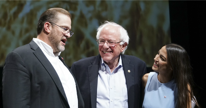 """Democratic leaders """"need to wake up and pay attention to what people actually want. There are so many progressive policies that have widespread support that mainstream Democrats are not picking up on, or putting that stuff down and saying, 'That wouldn't really work,'"""" said social worker Rachel Conner. (Photo: Jaime Green/The Wichita Eagle via AP)"""
