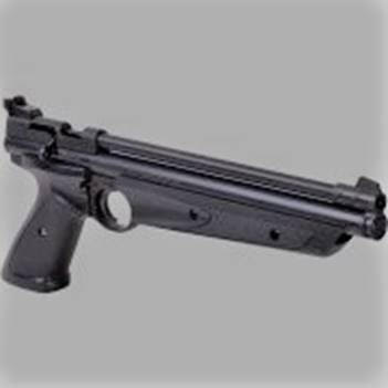 Crossman P1322 American Classic Multi Pump Pneumatic .22-Caliber Pellet Air Pistol, Black. Available on Amazon for $49.99