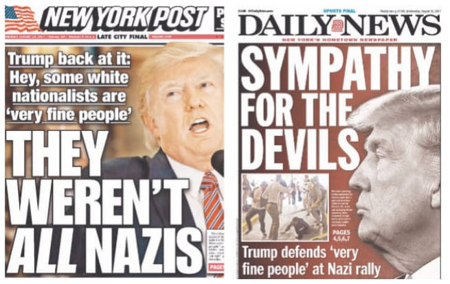 NY Post and NY Daily News