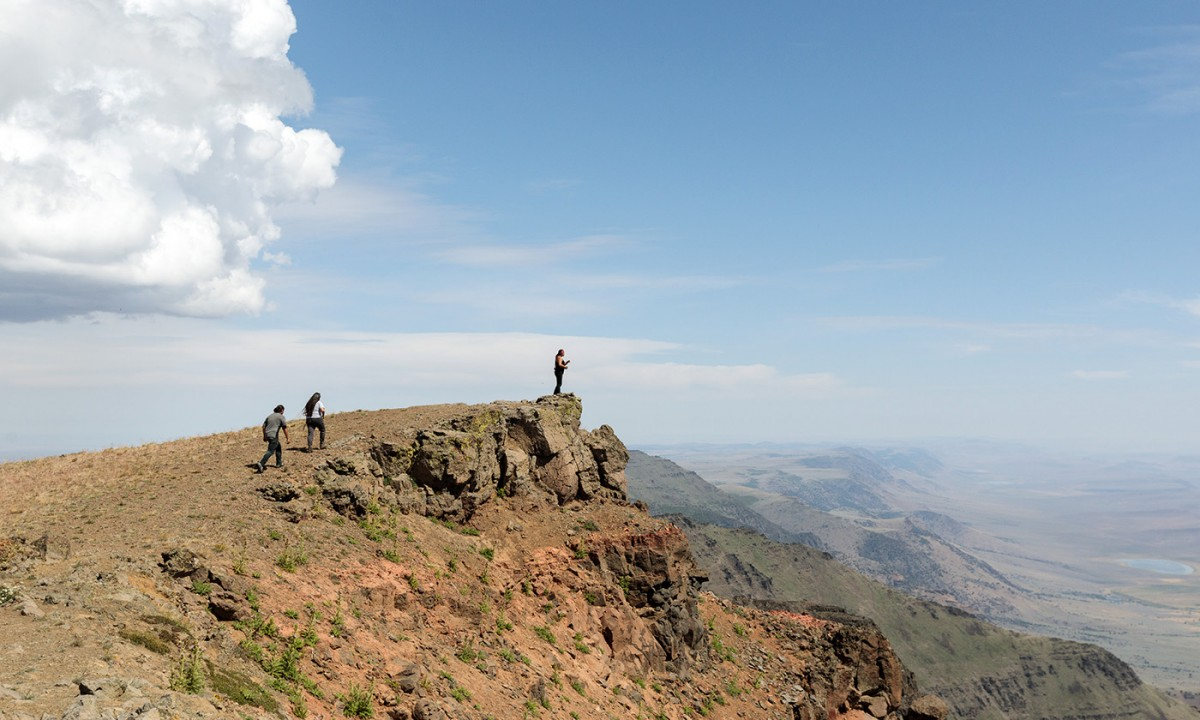 Tribal stewards explore Steens Mountain. (Photo: Sage Brown)