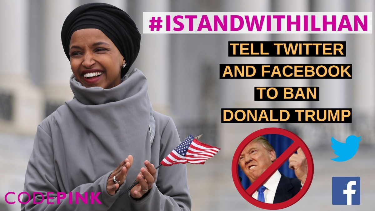 Trump escalates feud with Rep. Ilhan Omar