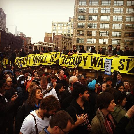 Occupy Wall Street. (Photo: Michael Whitney/Creative Commons. CC-BY-2.0)