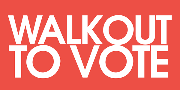 Walkout to Vote banner image from Future Coalition (Image: Future Coalition)