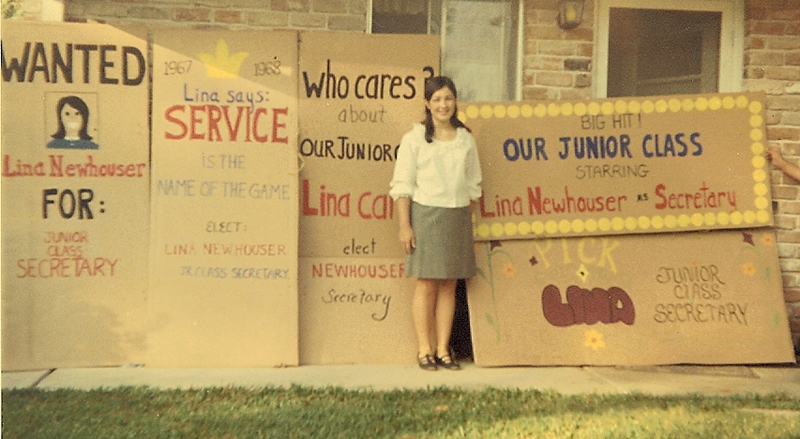 Lina Newhouser's 1st Winning Campaign - Jefferson Parish, LA, 1967