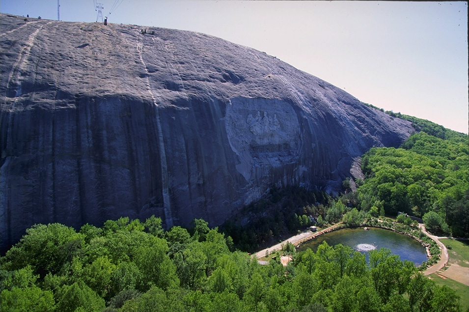 An overview of Stone Mountain