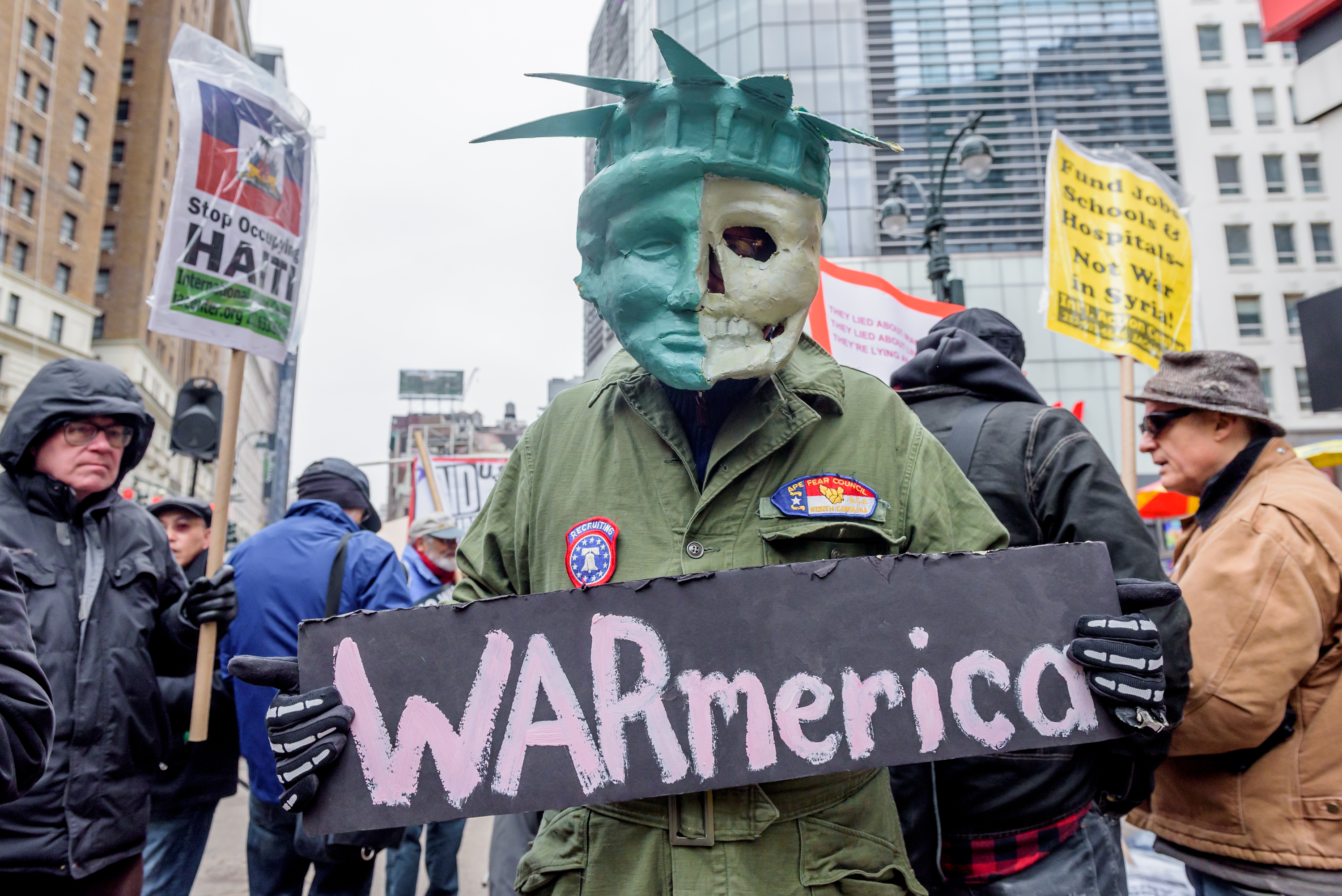 Fighting Climate Change Means Ending War