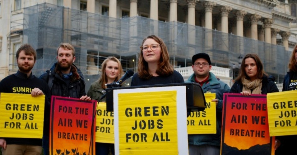 Jobs, the Environment, and a Planet in Crisis