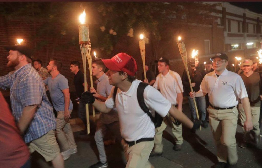 There Are Only Two Sides to Charlottesville. Trump Is on ...