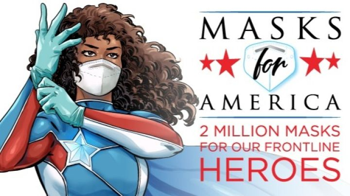 """Inadequate PPE (personal protective equipment) for health care workers is just one injustice in our inequitable health care system,"" writes Sriram.  (Image: Masks for America)"