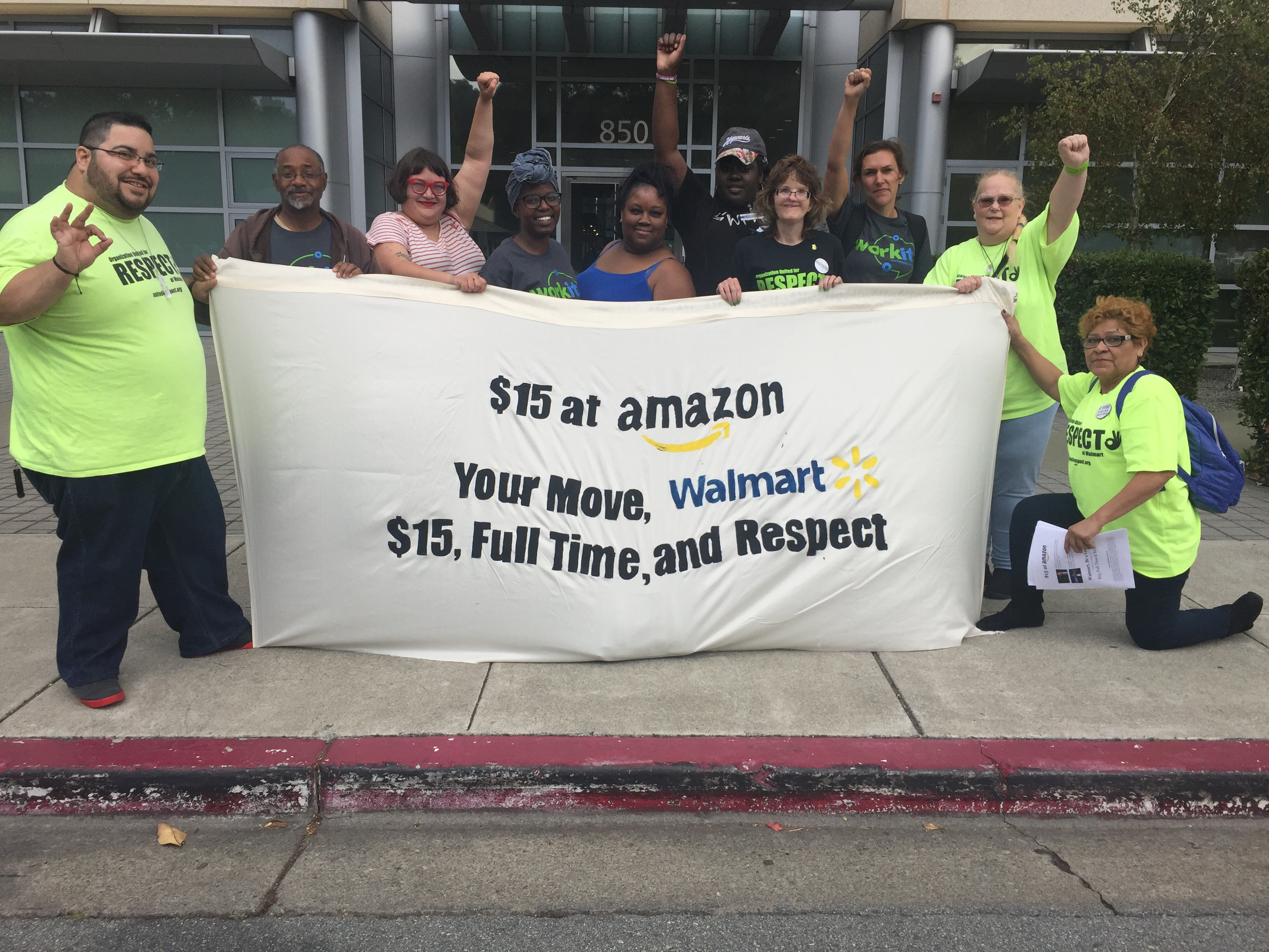 They Obviously Can Afford to': Workers Call On Walmart To Raise