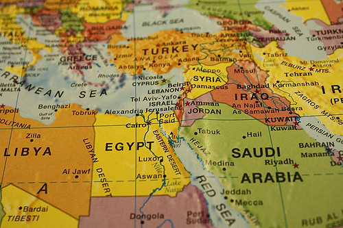 Map Of Israel And Saudi Arabia IsraelSaudi: A Match Made in Hell | Common Dreams Views