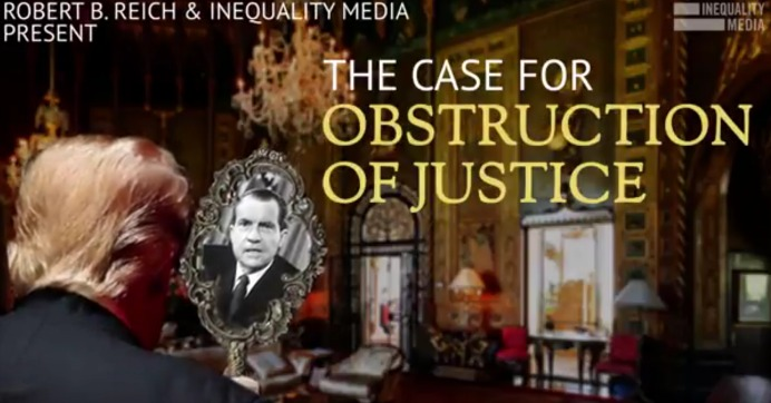 The Case For Obstruction Of Justice