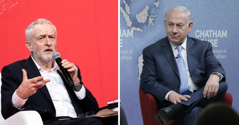 It Is Netanyahu, Not Corbyn, Who Deserves 'Unequivocal Condemnation'