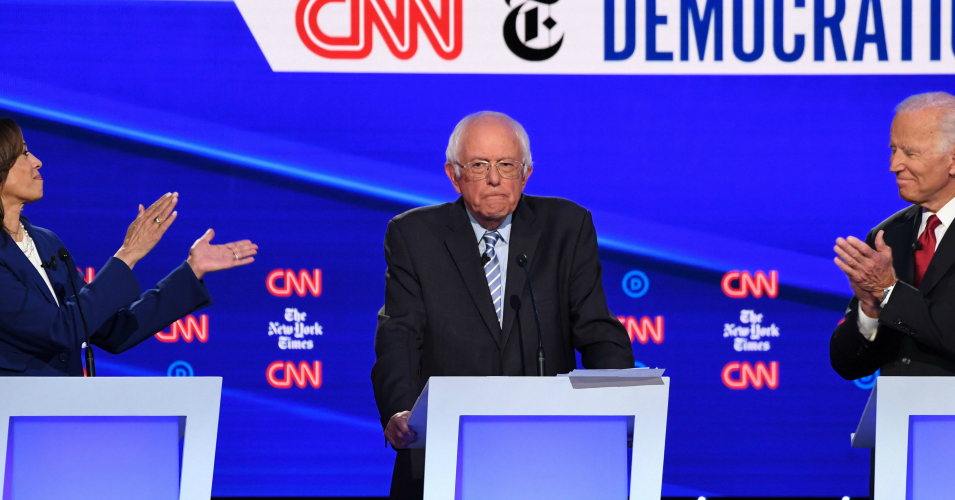 Post-Debate Musings: Bernie's Heart and His Courage Just Fine with Me