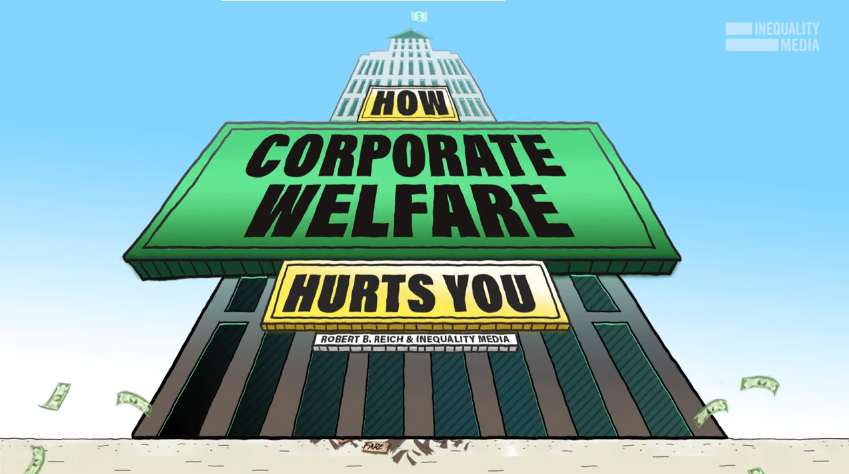 Take the Rich Off Welfare: The Real Story