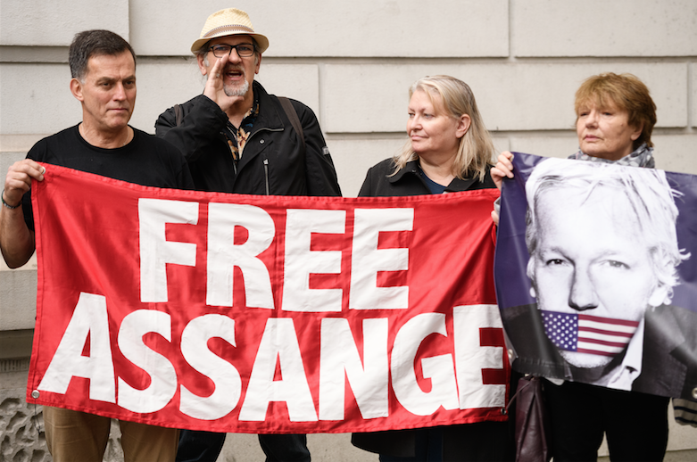 The Prosecution of Julian Assange Calls for the Public's Defense of Free Speech