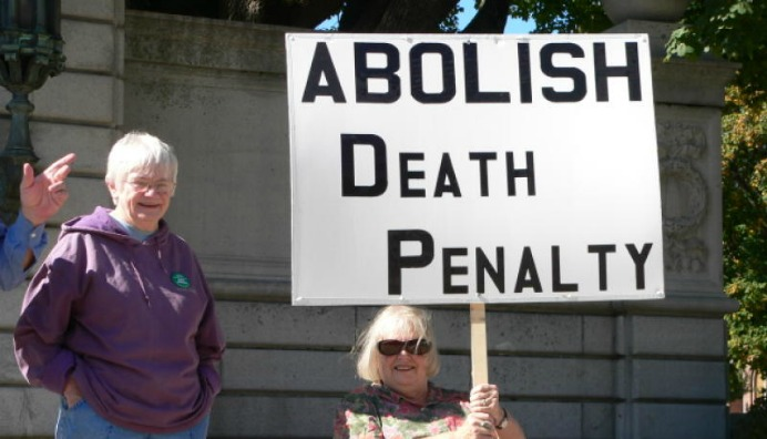 a discussion of whether the death penalty is just The death penalty and christianity  and so, in today's society, we still have to debate whether the death penalty serves any good purpose, just as we can debate whether life imprisonment without the possibility of parole serves any legitimate purpose that does anyone any good.