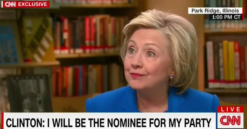 Clinton to Californians: Your Votes Will Not Affect the Democratic Primary Whatsoever