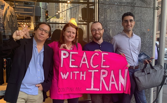 Why I Confronted Trump's Architect of U.S. Sanctions Against Iran and Called Her a 'Weapon of Mass Destruction'