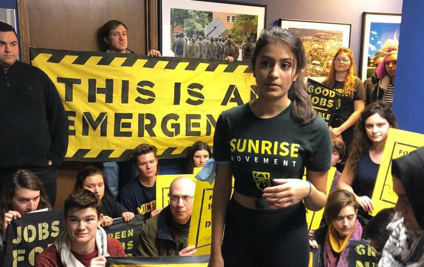 Young People Are Escalating to Sit-ins in Politicians'Offices Today. Here's Why.