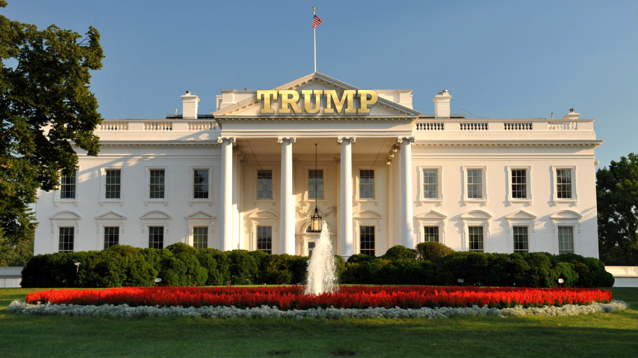Turning The White House Into The New Headquarters For